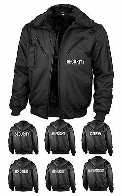 "Security-Jacke 4-in-1-Blouson ""Four Seasons waterproof"" wählbar bedruckt"