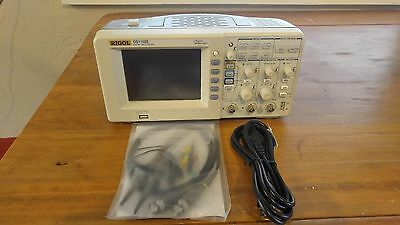 Rigol DS1102E 2 Channel 100MHz Digital Oscilloscope with 2 P6100 Probes!