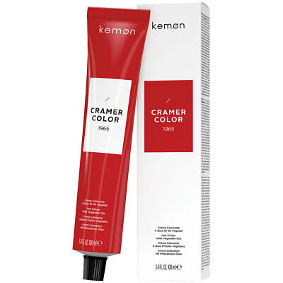 CRAMER Colour by Kemon - BRAND NEW - Hair Color with Vegetable Oils 100ml