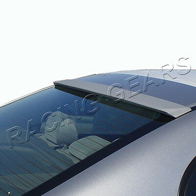 Fit Honda Civic 4-Dr/sedan Abs Painted Black Rear Roof Window Visor Spoiler Wing