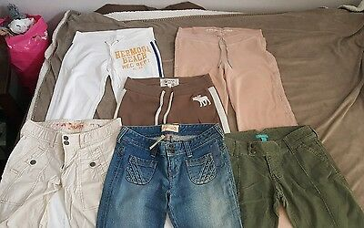 Lot of 6 Abercrombie & Hollister Pants/Jeans. New & lightly used