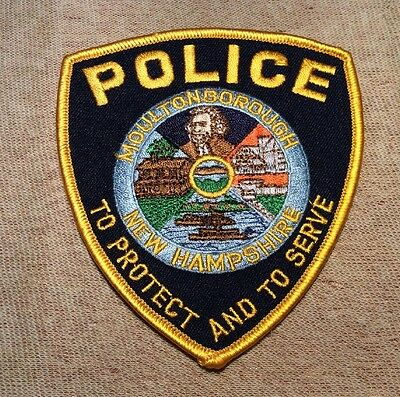 NH Moultonborogh New Hampshire Police Patch