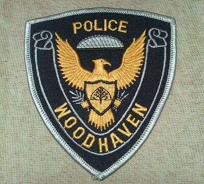 MI Woodhaven Michigan Police Patch