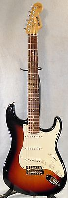 Fender/Warmoth SRV Stevie Ray Vaughan Stratocaster Strat Electric Guitar W/Case