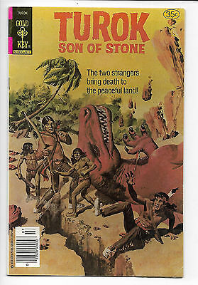 Turok Son of Stone #116 Whitman 1978 VF 8.0  painted cover  low print.