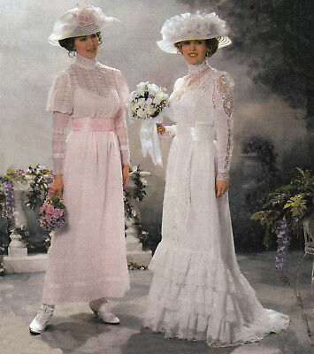 BRIDAL GOWNS | Victorian Edwardian Wedding  | Sz 14-20 | UNCUT Sewing Pattern