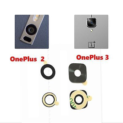 Genuine Oneplus 2 Two OnePlus 3 3T Three Back Rear Back Camera Glass Lens