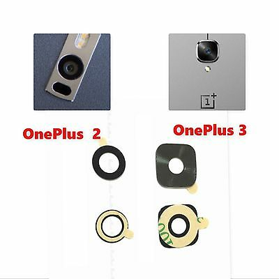 Oneplus 2 Two OnePlus 3 3T Three Back Rear Back Camera Glass Lens