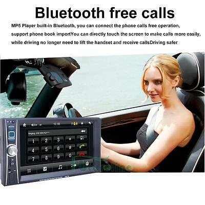 Car Head Unit Stereo MP4/MP5 Player 2 DIN Bluetooth Touch FM Radio USB Android