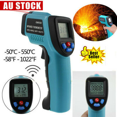 Non-Contact IR Infrared Laser Point Gun Digital Temperature Temp Thermometer AU