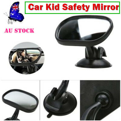 AU Car Safety Baby Auto Back Seat Mirror Rear View Car Child Infant Safety Black