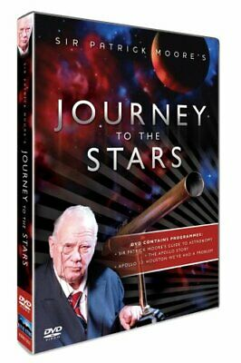 Sir Patrick Moore - Journey To The Stars [DVD] - DVD  0YVG The Cheap Fast Free