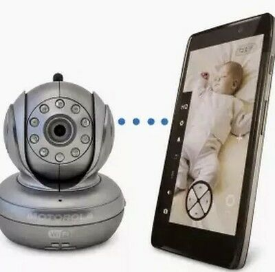 Motorola BLINK1 WiFi Video Camera and Baby Monitor Remote Viewing FREE SHIPPING