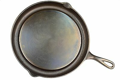 "Vintage Wagner Ware N0 1102 F Cast Iron ""Greaseless Frying Skillet"" Ex Condition"