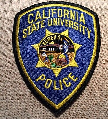 CA California State University Police Patch