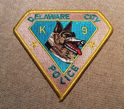 DE Delaware City Delaware K-9 Unit Police Patch