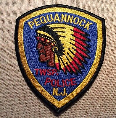 NJ Pequannock Twp. New Jersey Police Patch