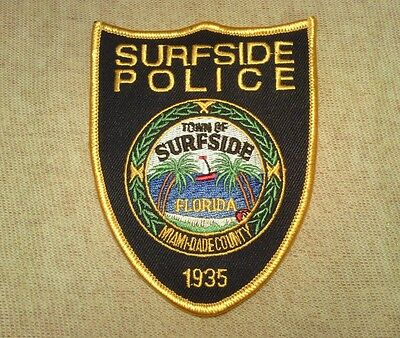 FL Town of Surfside Florida Police Patch