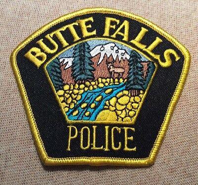 OR Butte Falls Oregon Police Patch