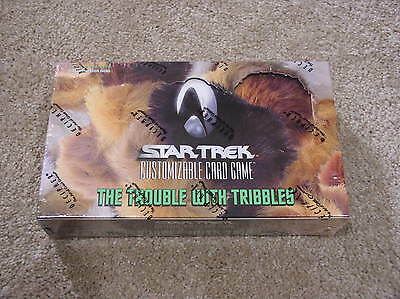 Decipher Star Trek CCG The Trouble with Tribbles booster box - sealed