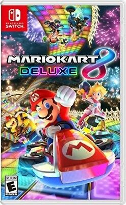 Mario Kart 8 - Deluxe for Nintendo Switch [New Switch] Deluxe Ed