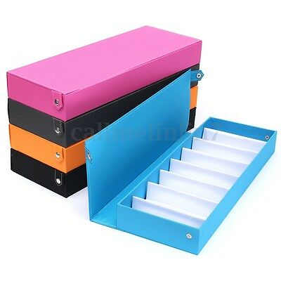 8 Grid Eyeglass Sunglasses Storage Display Stand Case Box Holder Compartment UK