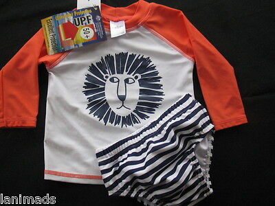 LION Swim Nappy Baby Boys Bathers BNWT Size 0 1 2 UPF 50+ ** Free Post**