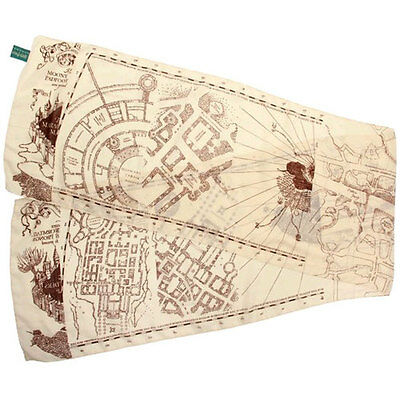 Harry Potter - Marauder's Map Scarf NEW Elope