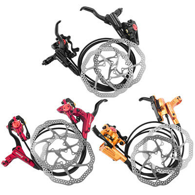 ZOOM M875 MTB Mountain Bike Cycling Hydraulic Disc Brakes Front/Rear+Rotors