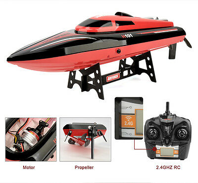 Remote Control LARGE RC Boat High Speed for Racing RTR FAST Cooler+ 2 Batteries