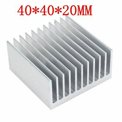 Aluminum Heat Sink IC Heatsink Cooling Fin For CPU LED Power 40mm x 40mm x 20mm