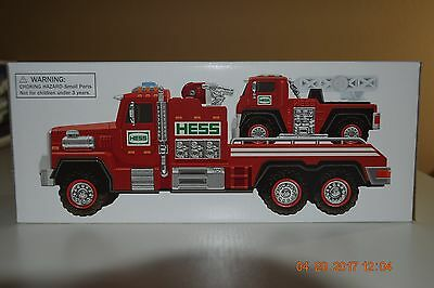 Hess 2015, fire truck and ladder rescue, NIB