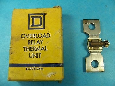 Square D Overload Relay Thermal Unit CC156 SQ D NEW MADE IN USA! FREE SHIPPING!