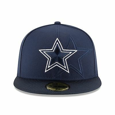 brand new 466d0 d2b7d Dallas Cowboys New Era Sideline Official 59FIFTY Fitted Hat - Navy - Size 7  1