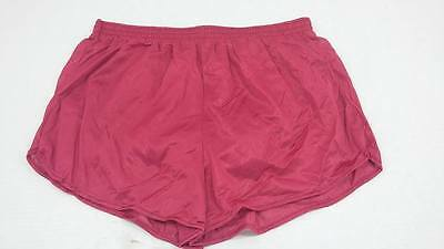 Vintage Running Shorts Cobblestones Shiny Nylon Dead Stock MADE IN THE USA NWOT