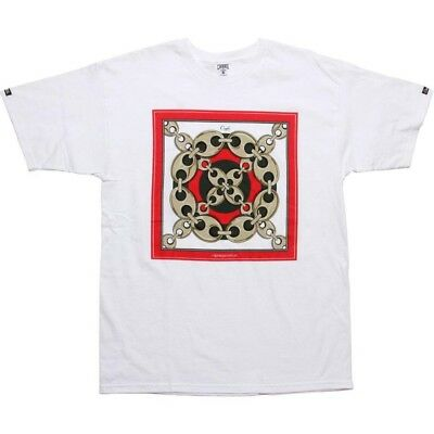 $49.99 Crooks and Castles Snake Skeleton Tee white CC990715WHT