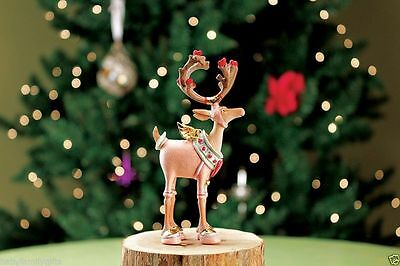 Patience Brewster Dash Away Christmas -Mini Cupid Reindeer Ornament 08-30654