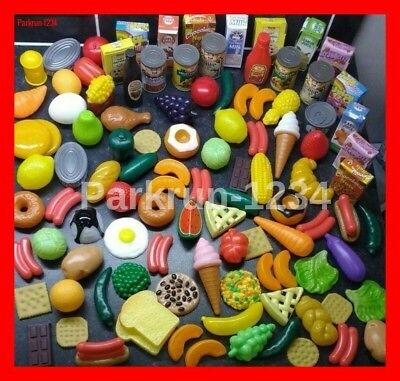 Giant Pretend Play Food Set FAST POSTAGE Kids Children Kitchen Toy Shopping NEW