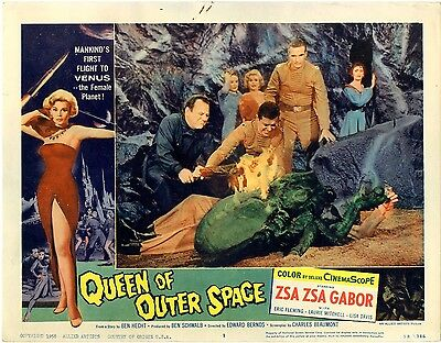 Queen of Outer Space 1958  Lobby Card Set