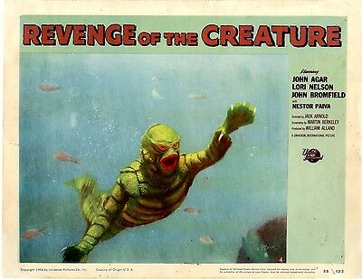 Revenge of the Creature 1955  Lobby Card