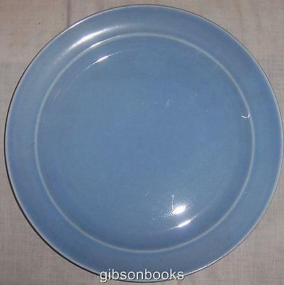 Vintage Taylor Smith Taylor China Lu Ray Pastel Blue Dinner Plate