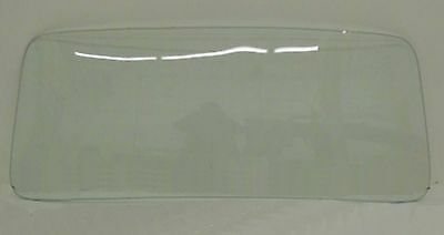 Back Glass Rear in Clear 55-57 Chevrolet and Pontiac 2 and 4 Door Dr Wagon Wag