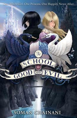 NEW The School for Good and Evil By Soman Chainani Paperback Free Shipping