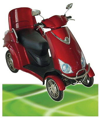 500W ElektroMobil Boco bis 20 km/h Senior mobile electric scooter TWO SEATER