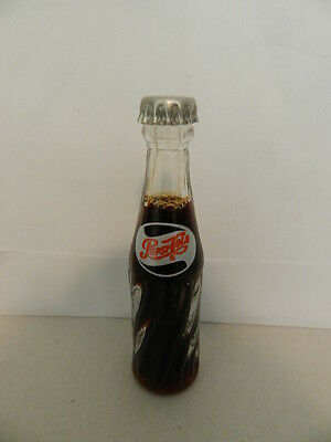 Vintage Soda Advertising Mini Bottle- Pepsi-Cola  Mini Bottle-Vintage Drive-In