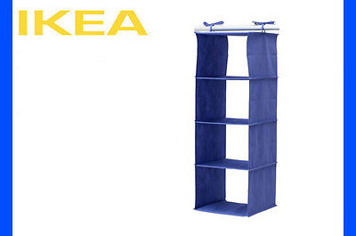IKEA JALL Wardrobe 4 Compartment Hanging Organiser Rack *** BRAND NEW!!***
