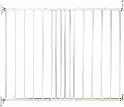 BabyDan Multidan Extending Metal Adjustable Safety Stair Baby Gate White New