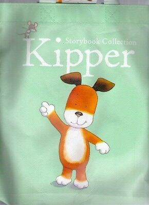KIPPER STORYBOOK COLLECTION Canvas Book Bag + label Childs Storage Collectable