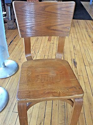 Set Of 2 Spectacular Thonet Chairs Retro Mid Century Bentwood Eames
