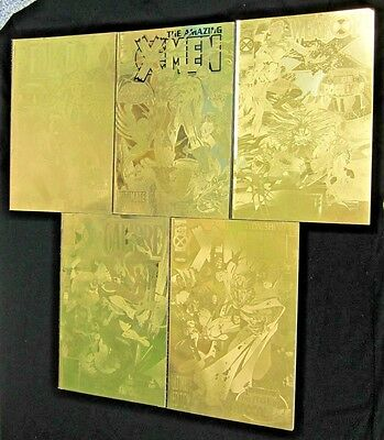 Lot 5 X-Men Gold Foil Cover TPB Age of the Apocalypse: Factor X, Weapon X +